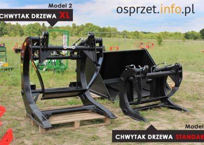 CHWYTAK DO DRZEWA BALI - Model 1 i 2 porównanie - fot 1 L