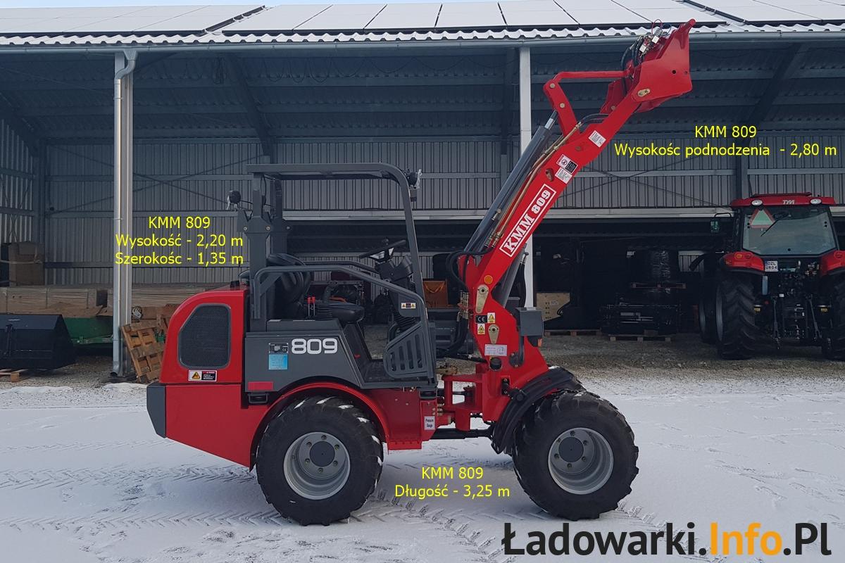 KMM 809 bez kabiny - 2021_01 - fot 18L- wymiary