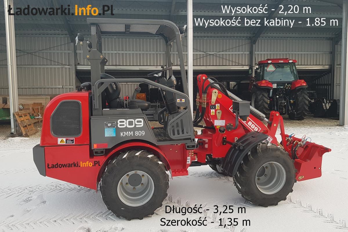 KMM 809 bez kabiny - 2021_01 - fot 8 L- wymiary