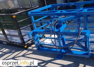Kosz roboczy - skrętny hydraulicznie - fot 10L