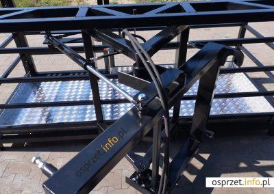 Kosz roboczy - skrętny hydraulicznie - fot 13L