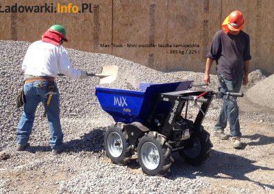 MAX TRUCK - samojezdna mini-wywrotka, 365 kg 225 l - fot 10L