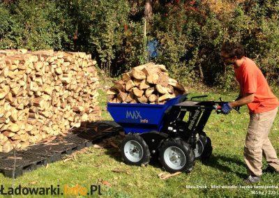 MAX TRUCK - samojezdna mini-wywrotka, 365 kg 225 l - fot 11L