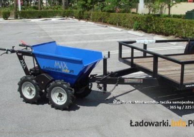 MAX TRUCK - samojezdna mini-wywrotka, 365 kg 225 l - fot 12L