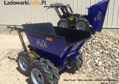 MAX TRUCK - samojezdna mini-wywrotka, 365 kg 225 l - fot 13L