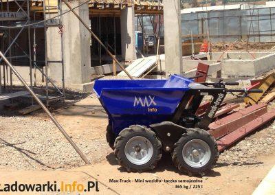MAX TRUCK - samojezdna mini-wywrotka, 365 kg 225 l - fot 14L