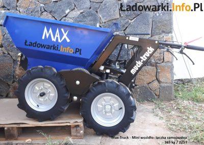 MAX TRUCK - samojezdna mini-wywrotka, 365 kg 225 l - fot 15L