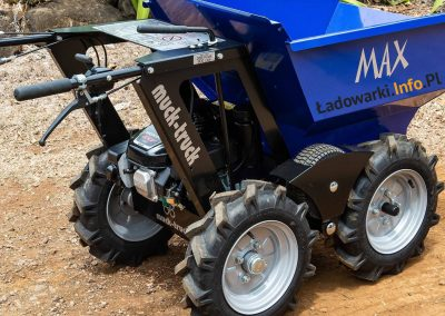 MAX TRUCK - samojezdna mini-wywrotka, 365 kg 225 l - fot 1L