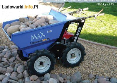 MAX TRUCK - samojezdna mini-wywrotka, 365 kg 225 l - fot 6L