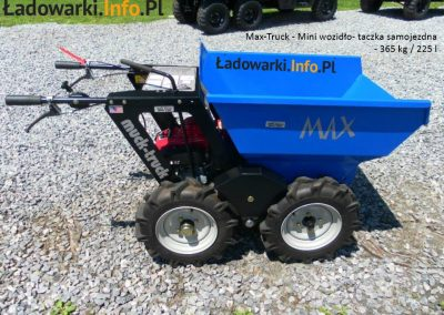 MAX TRUCK - samojezdna mini-wywrotka, 365 kg 225 l - fot 7L