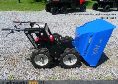 MAX TRUCK - samojezdna mini-wywrotka, 365 kg 225 l - fot 8L