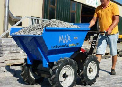 MAX TRUCK - samojezdna mini-wywrotka, 365 kg 225 l - fot 9L