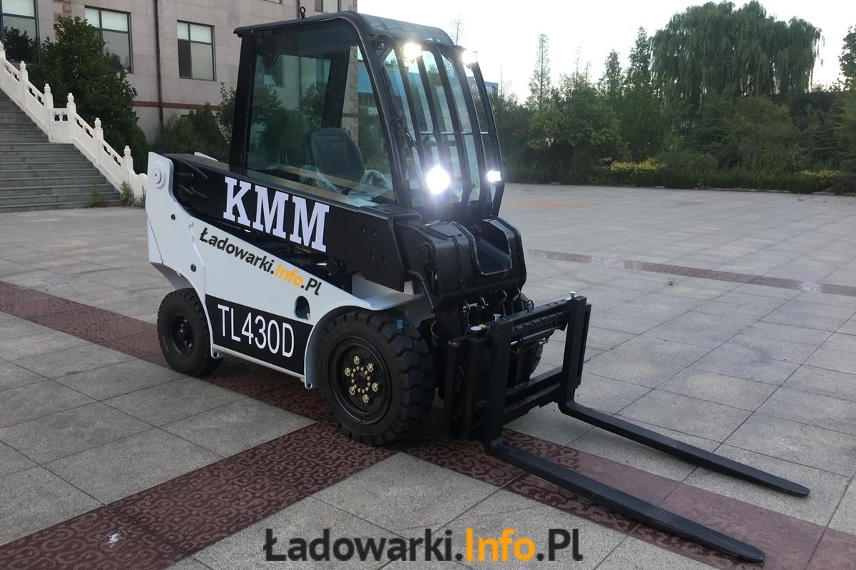 Teleskopowy wózek widłowy KMM T30D - 1L