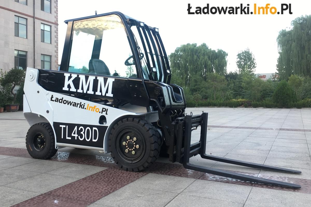 Teleskopowy wózek widłowy KMM T30D - 2L
