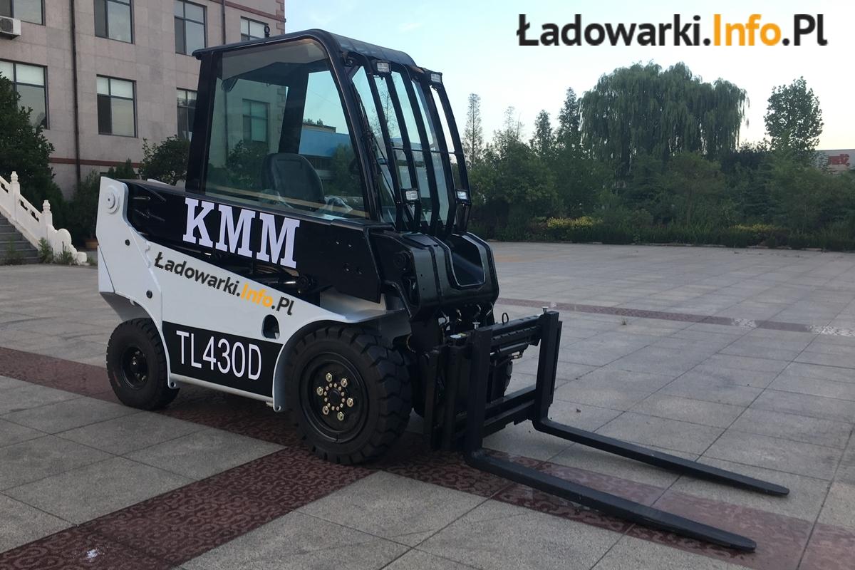 Teleskopowy wózek widłowy KMM T30D - 3L