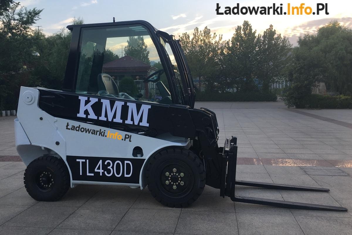 Teleskopowy wózek widłowy KMM T30D - 8L