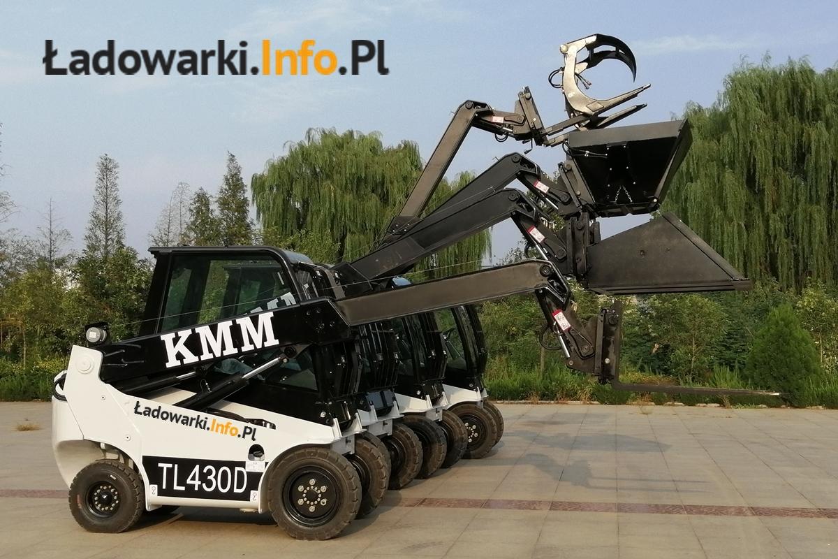 osprzęt Teleskopowy wózek widłowy KMM T30D - 1 L