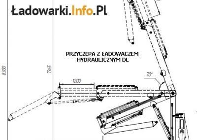przyczepa z ładowaczem DL - rys1L